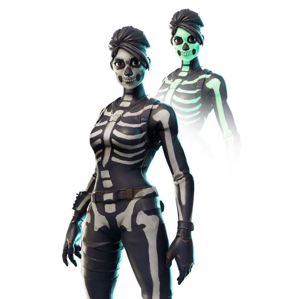 Skull trooper clipart character. Ranger outfit fnbr co