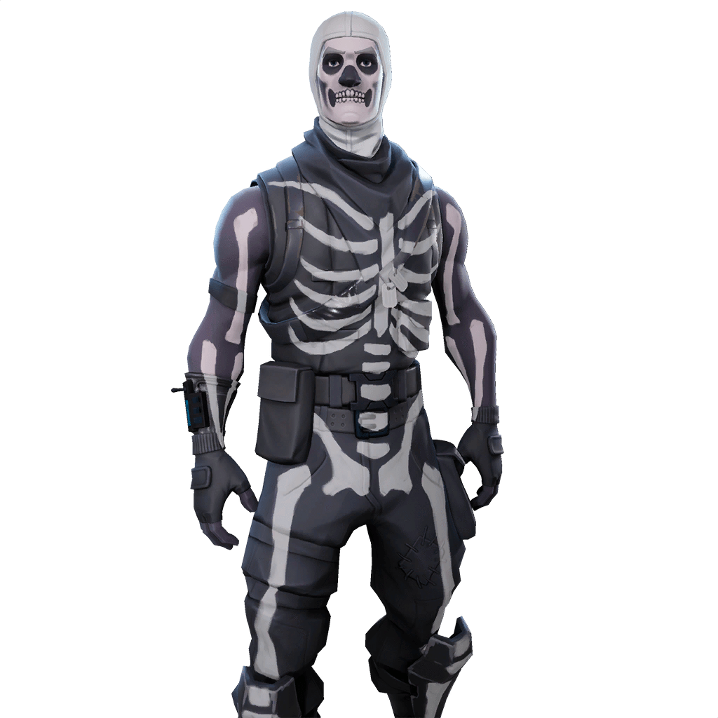 Skull trooper clipart dancing. Full body tropper www