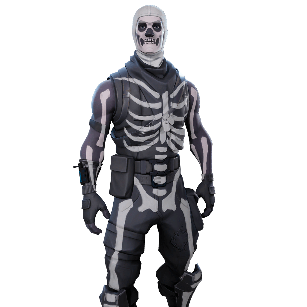 Skull trooper clipart 1080p. Fortnite drawing skin
