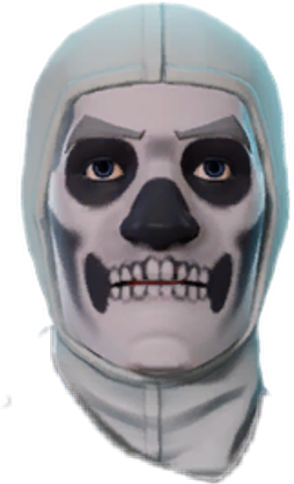 Skull trooper clipart face. Skulltrooper sticker by olavi