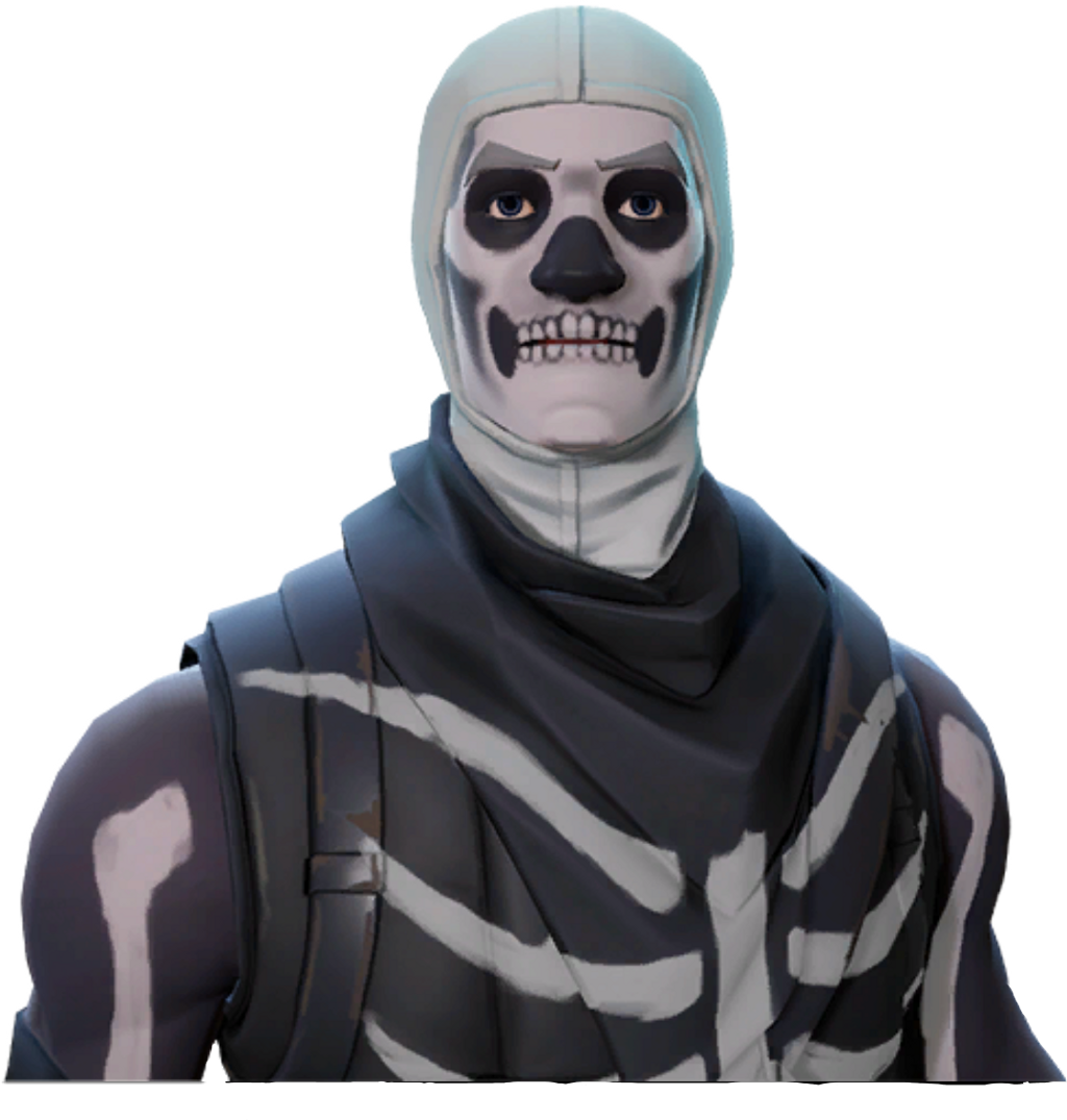 Skull trooper clipart face. Fortnite skulltrooper freetoedit sticker