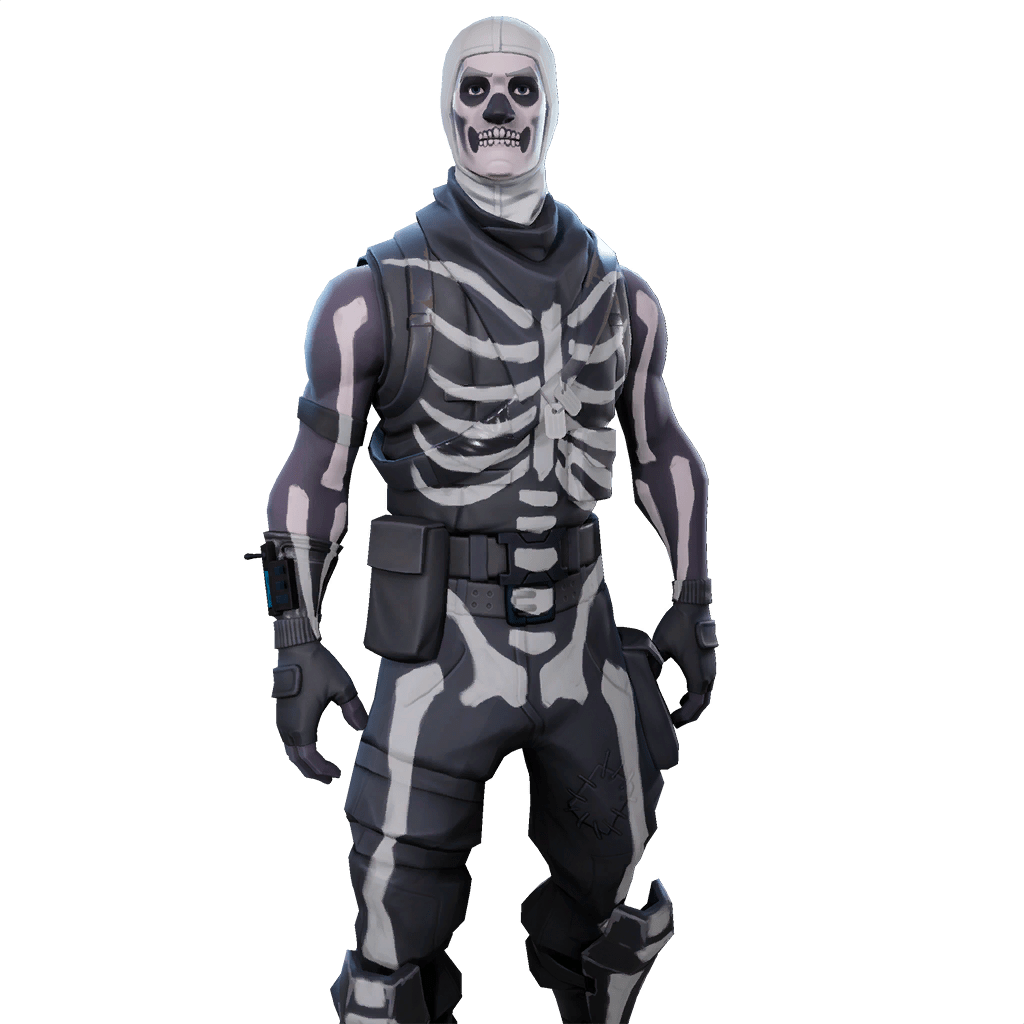 skull trooper png drawing