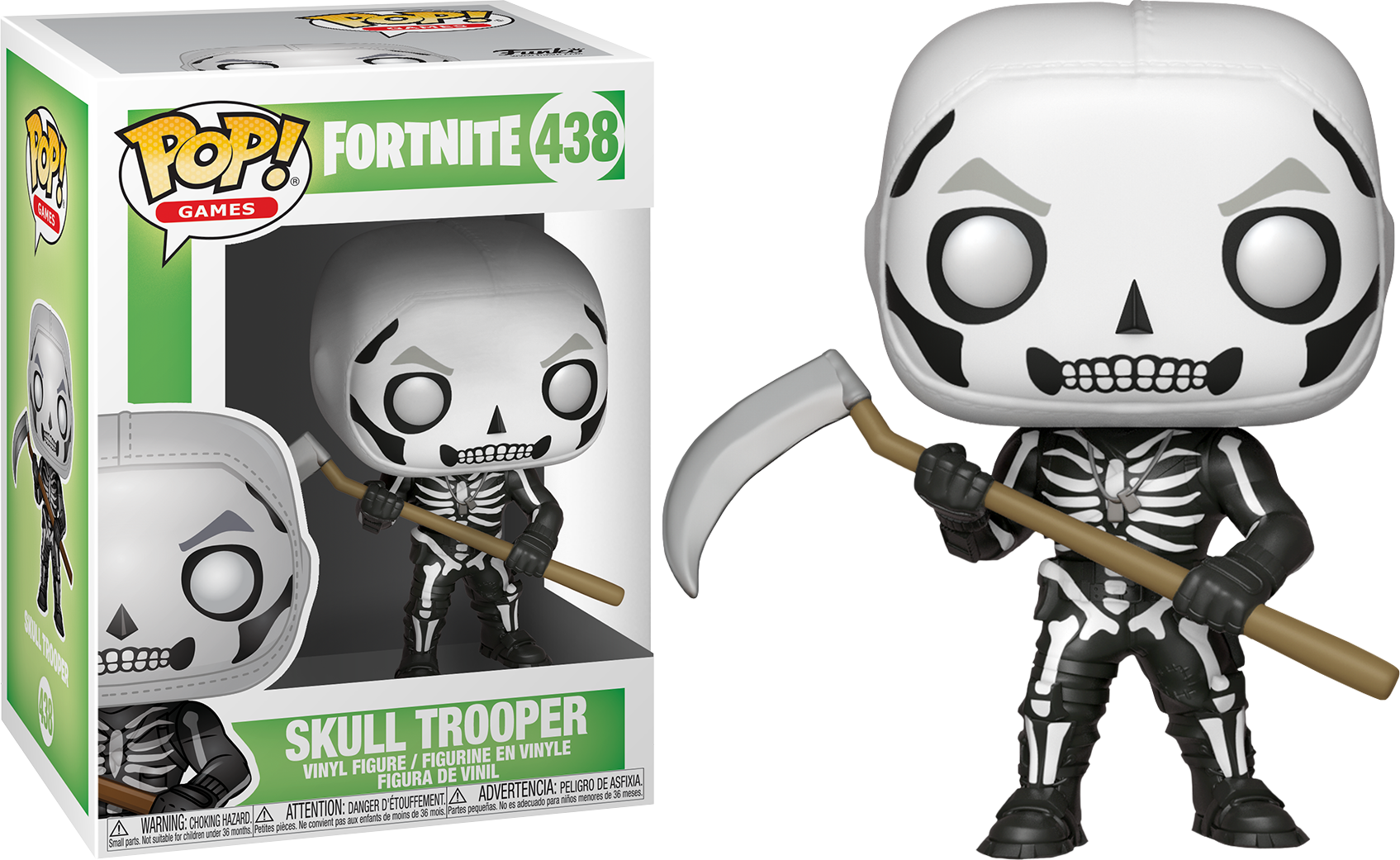 Skull trooper clipart fan art. Fortnite battle royale with