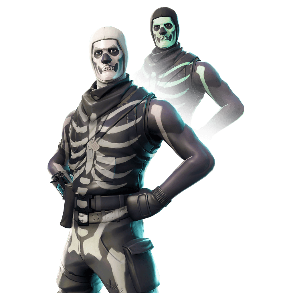 Skull trooper clipart fan art. Transparent background www topsimages