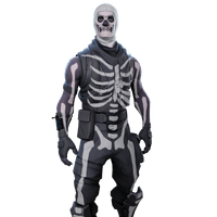 Skull trooper png rare skin. Fortnite outfits skins skulltrooperimage