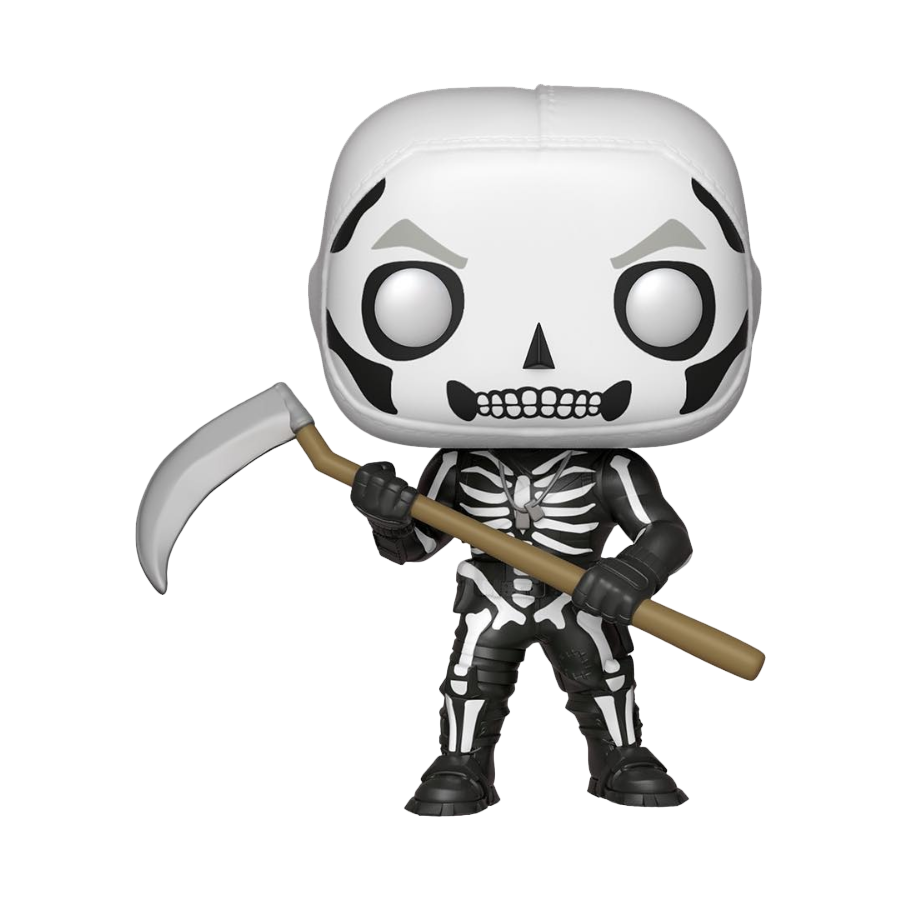 Skull trooper clipart october 2018. Upcoming fortnite funko pop