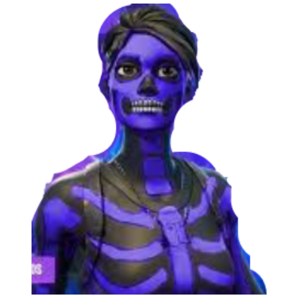 Skull trooper clipart purple transparent. Fortworth skulltrooper freetoedit