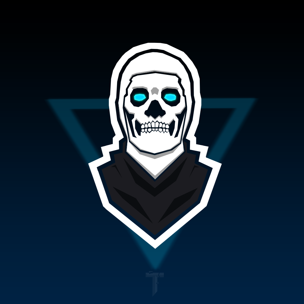 Skull trooper png animated. Fortnite mascot logo wallpaper