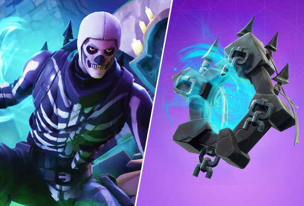 Skull trooper png loading screen. Fortnite ghost portal challenges