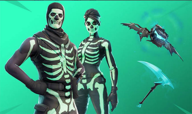 Skull trooper png loading screen. Fortnite set revealed squad
