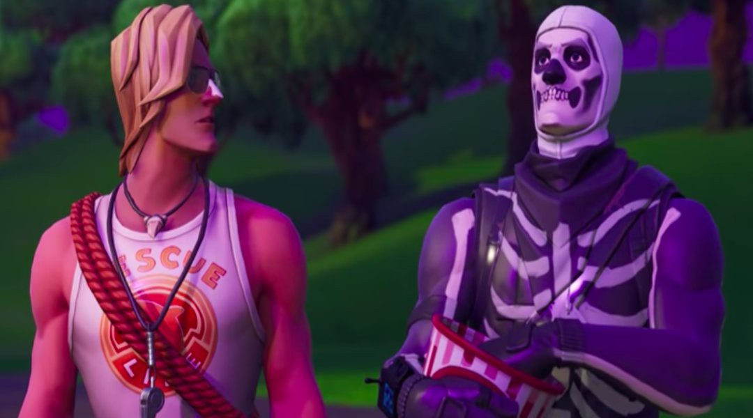 Skull trooper png rare skin. Fortnite season trailer confirms