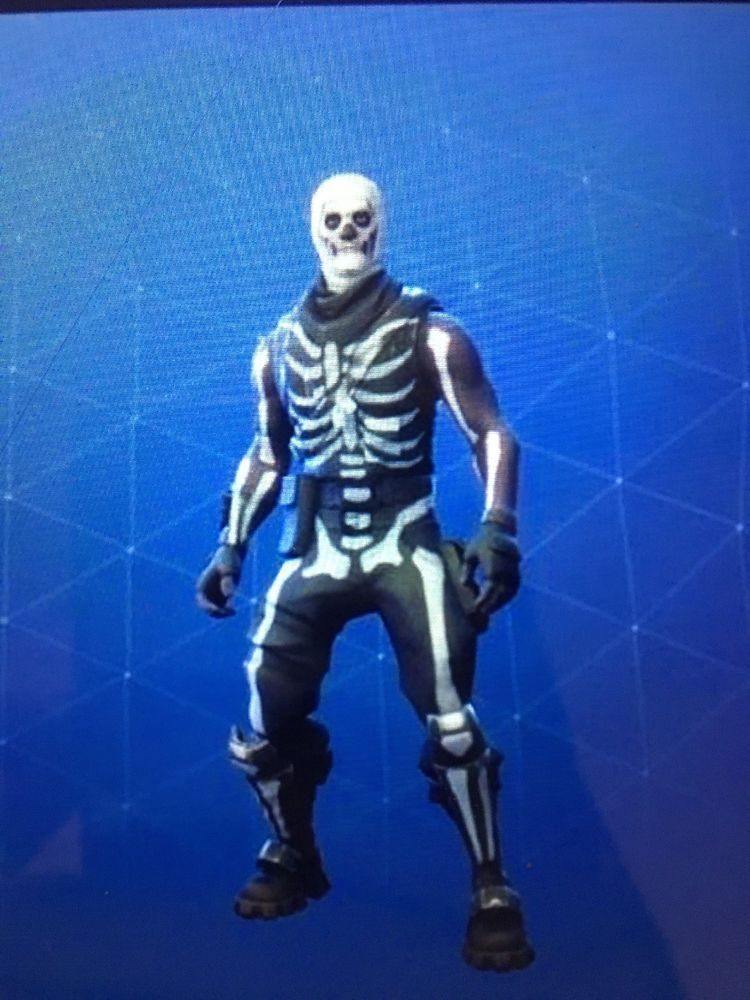 skull trooper png zombie fortnite ghoul pickaxes ultra rare - skin ghoul fortnite png