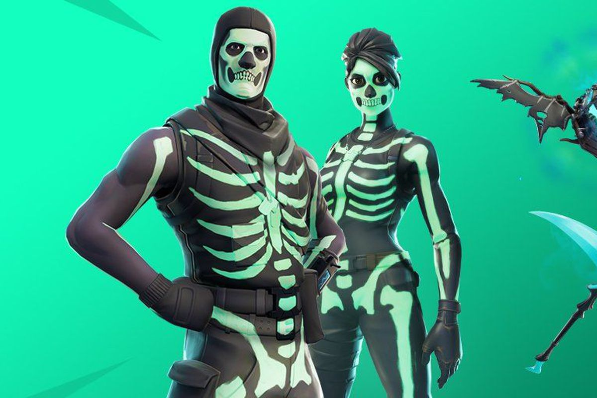 Skull trooper png rare skin. One of fortnite s