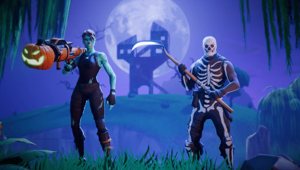 Skull trooper png zombie fortnite. Epic games teases the