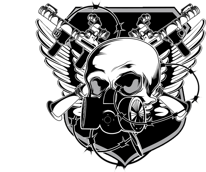 Skull with gas mask png. Psd official psds share