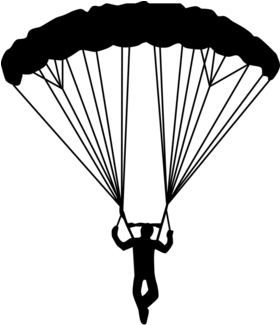 Skydive drawing. Download hd the safety