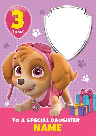 Skye paw patrol png. A special daughter funky