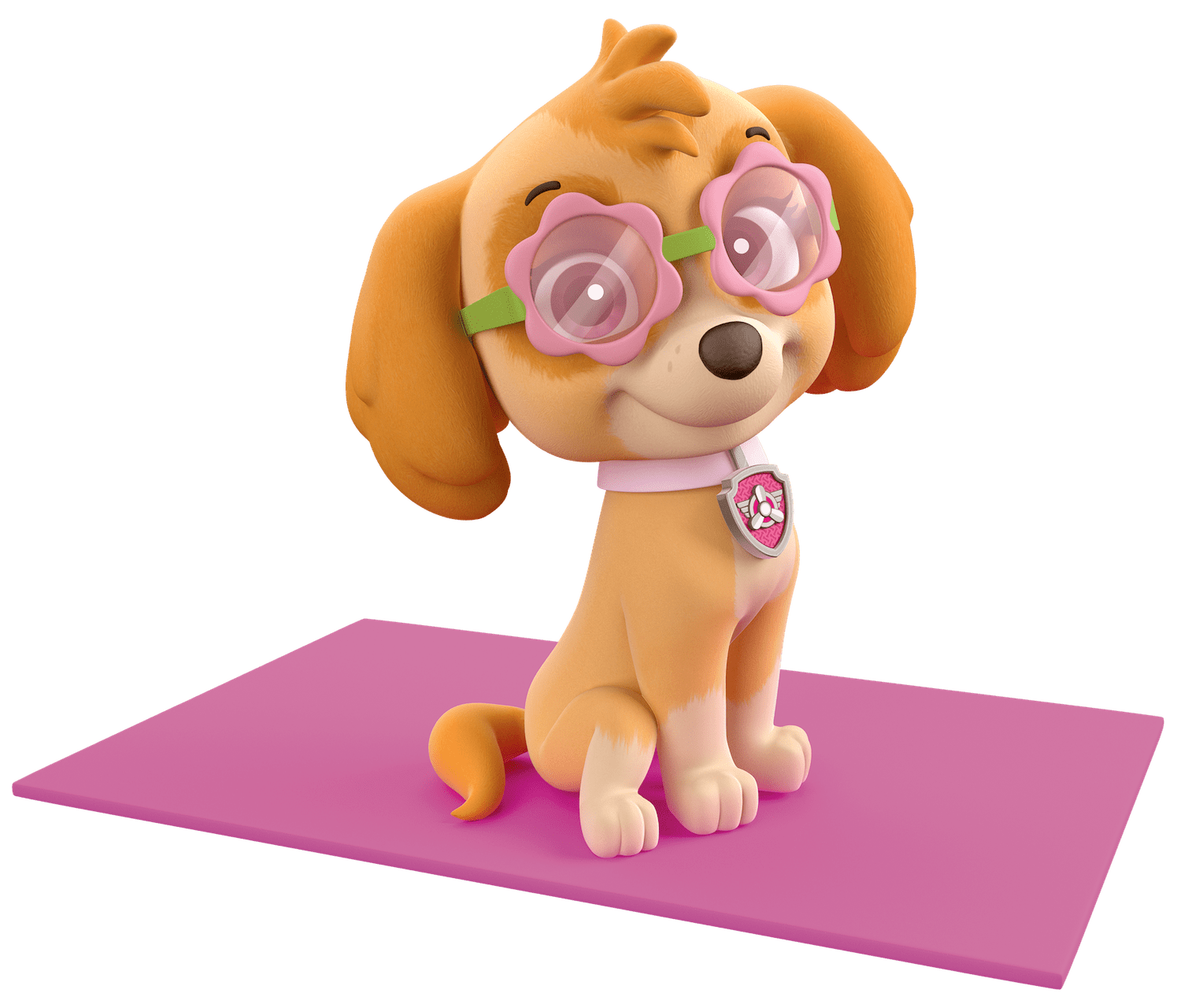 Skye paw patrol png. Ready for the gym