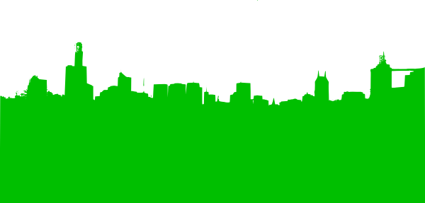 Skyline chicago png. Green clip art at