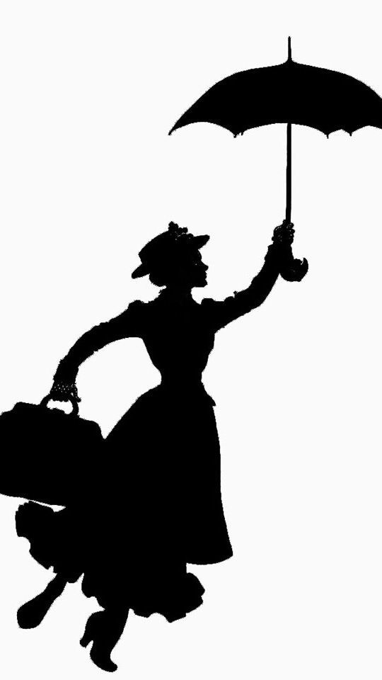 Skyline clipart mary poppins. Silhouette clip art movies