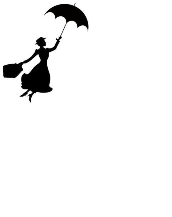 Skyline Mary Poppins Transparent & PNG Clipart Free Download - YA
