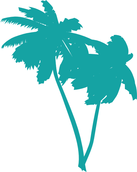 Palm trees vector png. Free tree download clip