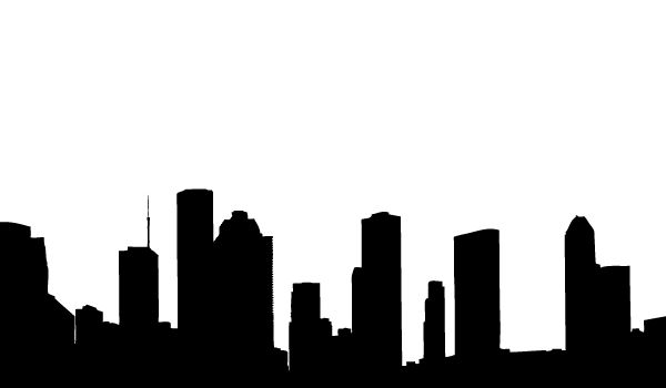 Skyline clipart skyline buffalo. Silhouette at getdrawings com