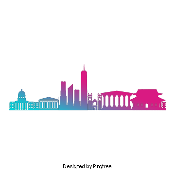 City silhouette png. New york vectors psd
