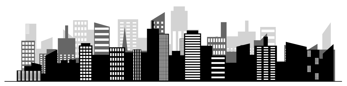 Skyline clipart smart city. Tech career talks cities