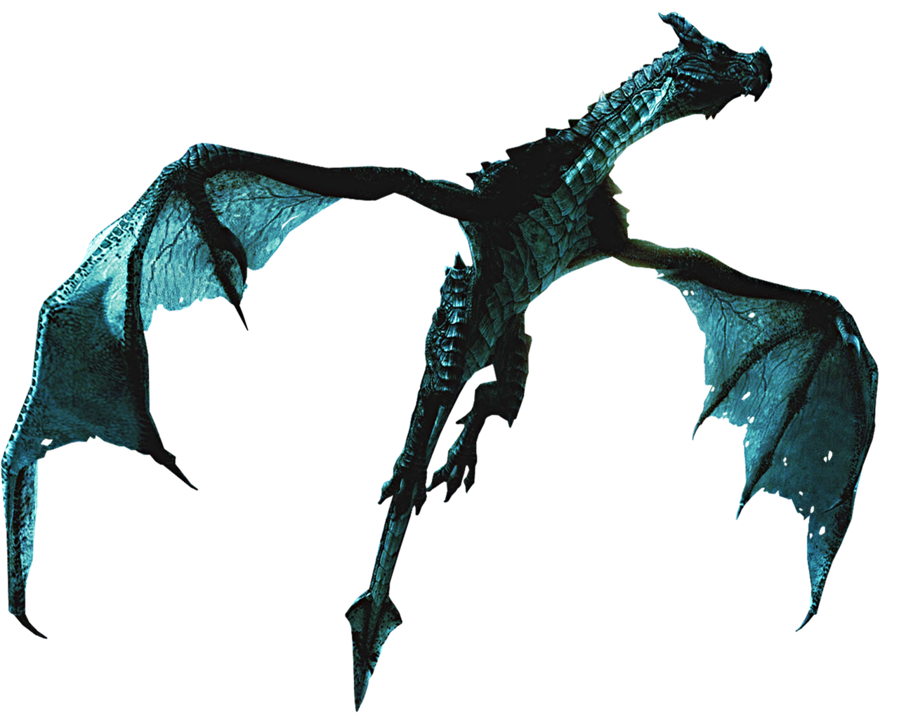 skyrim dragon png
