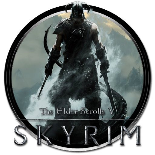 Icons vector free and. Skyrim png banner free stock