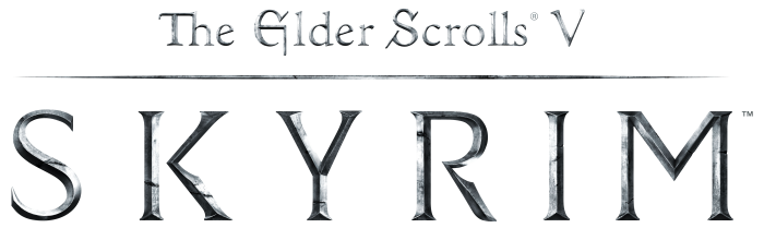 Skyrim logo png. Every little achievement counts