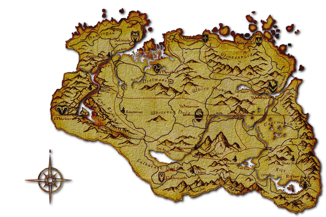 Skyrim map icons png. Icon by slamiticon on