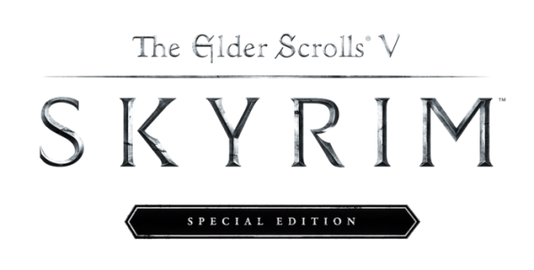 Skyrim special edition logo png. Tamriel awaits you in
