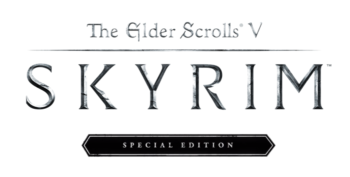 Skyrim special edition logo png. Patched xbox enthusiast