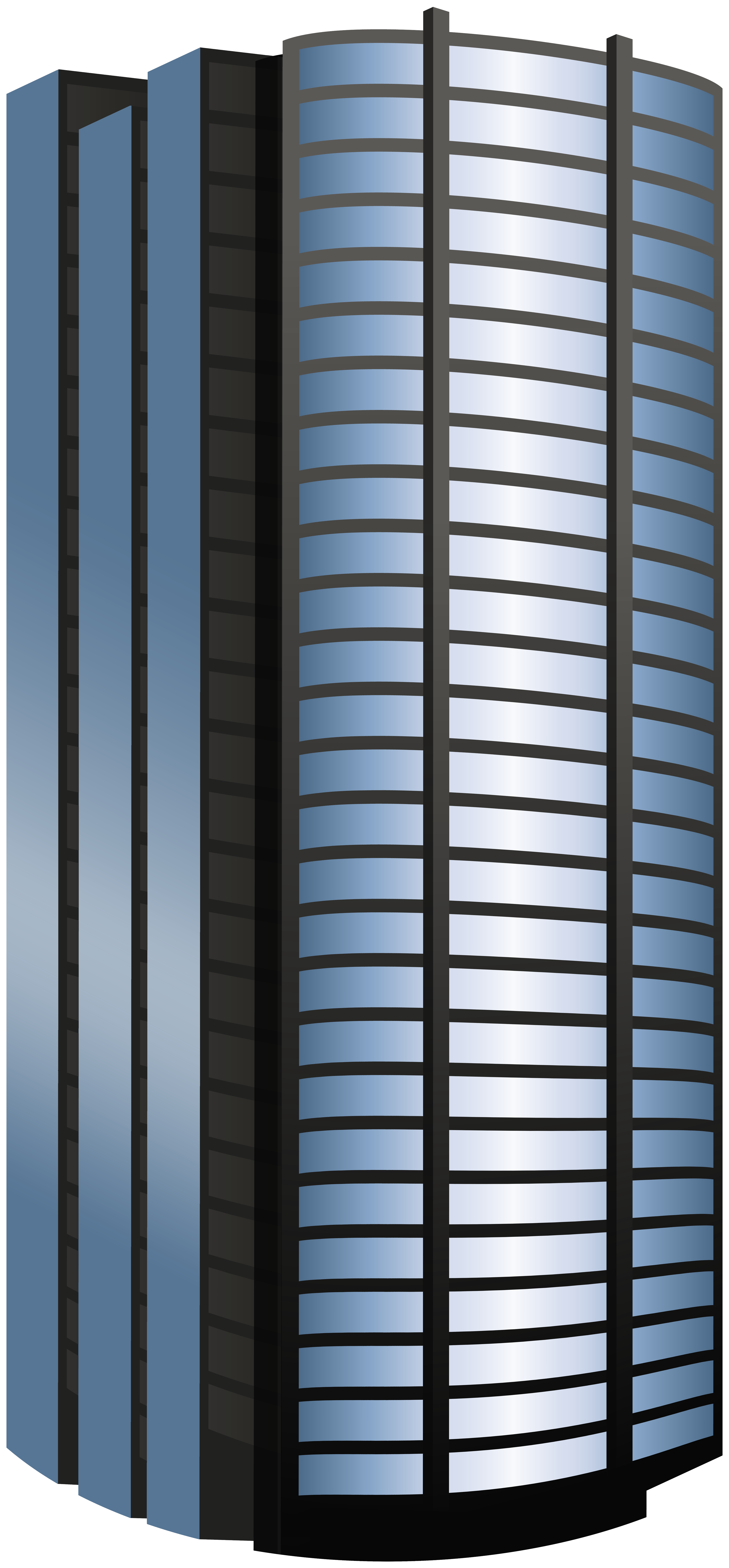 Skyscraper clipart architecture building. Blue round png best