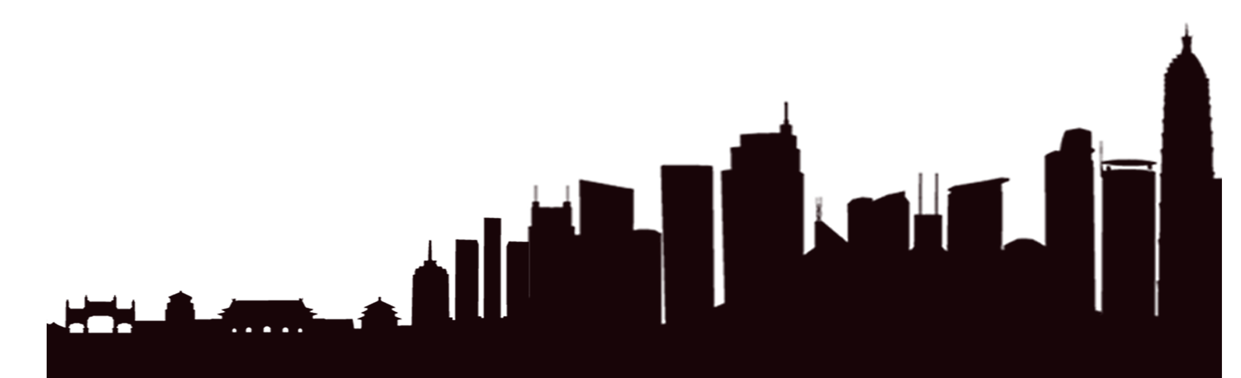 Skyscraper silhouette png. Building transprent free download