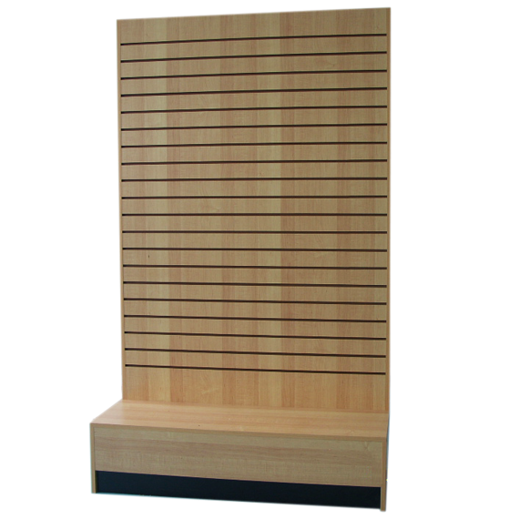 Slatwall clip display. And accessories store fixture