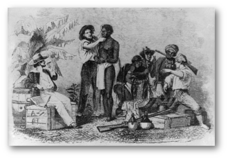 Slaves drawing abolition slavery. The act for gradual