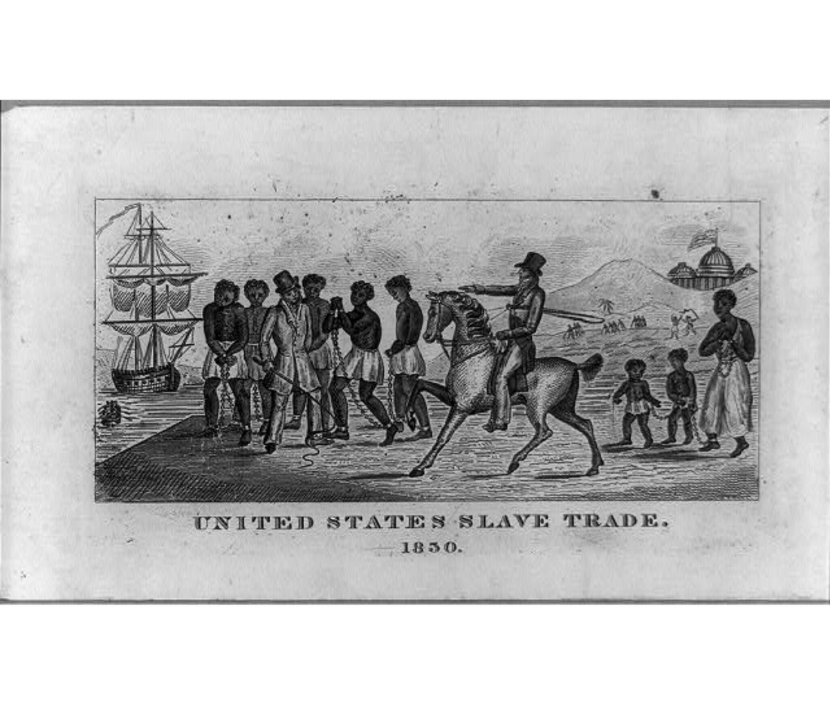Slaves drawing black history. Images on twitter to