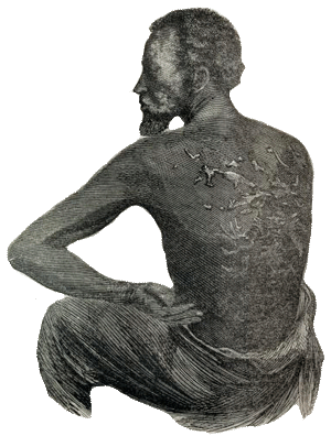 Slaves drawing person. Oregon secretary of state