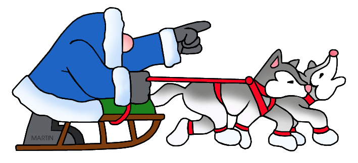 alaska clipart dog sled