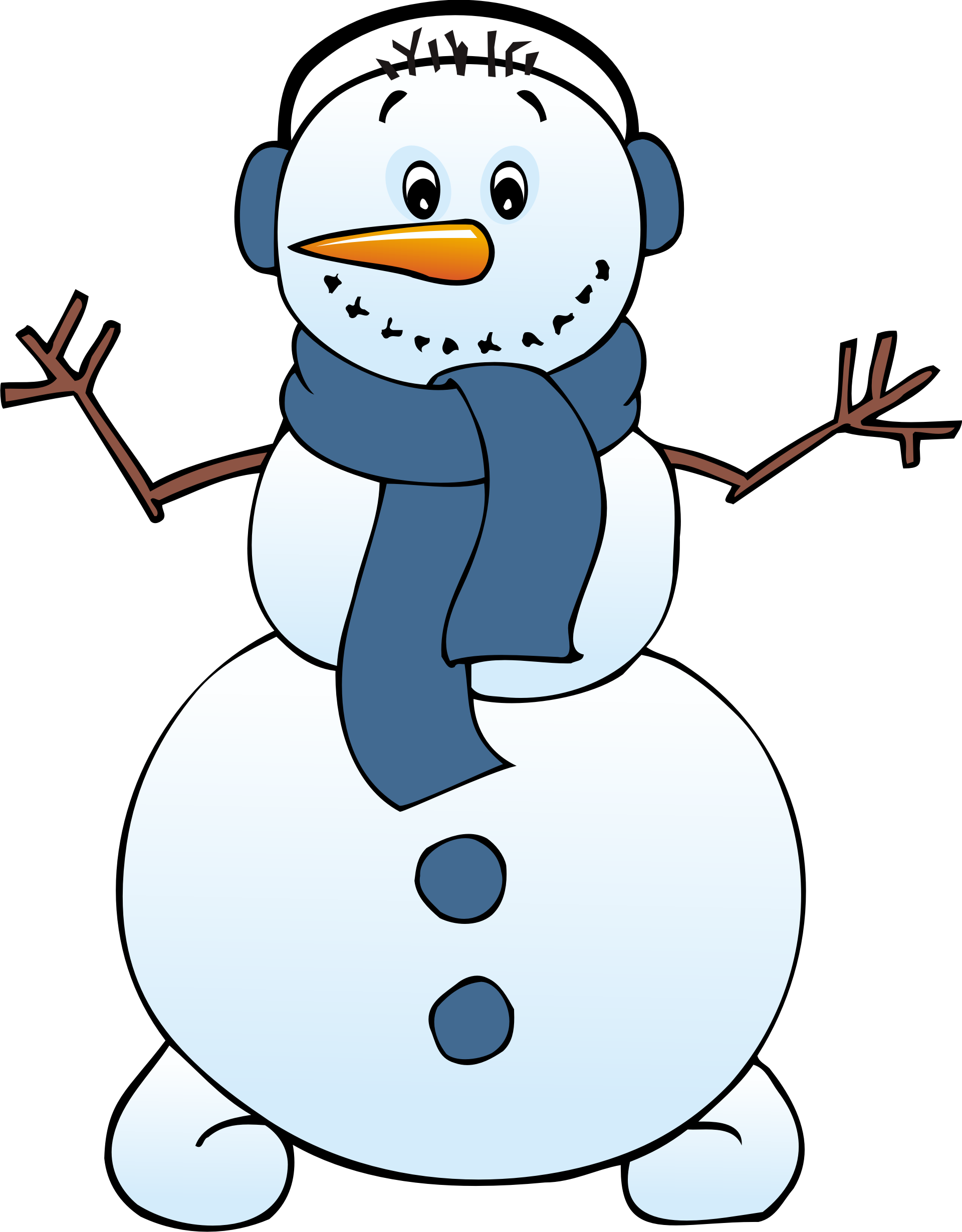 Frost transparent frosty the snowman. Free surfing cliparts download