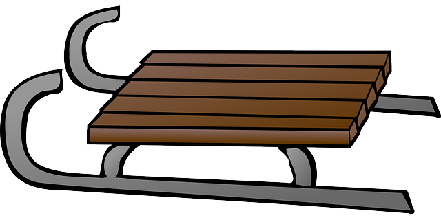 Sled clipart luge. Free toboggan cliparts download