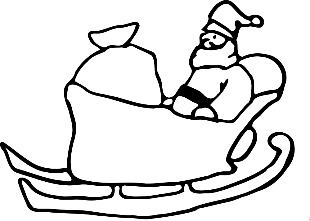 Sledding Drawing Cart Transparent Clipart Free Download