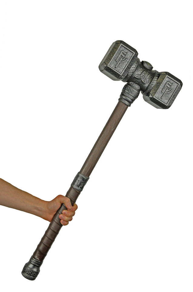 weapon drawing hammer