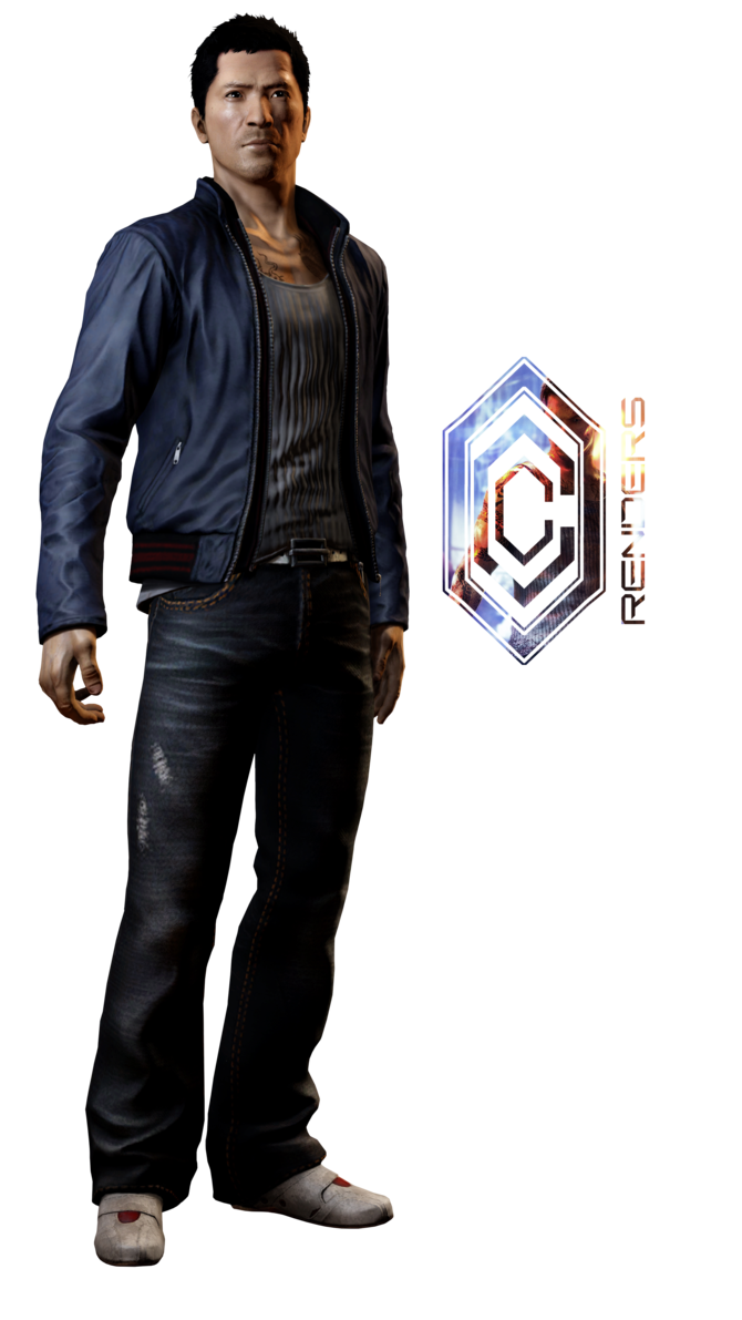 Sleeping dogs png. Wei render by the