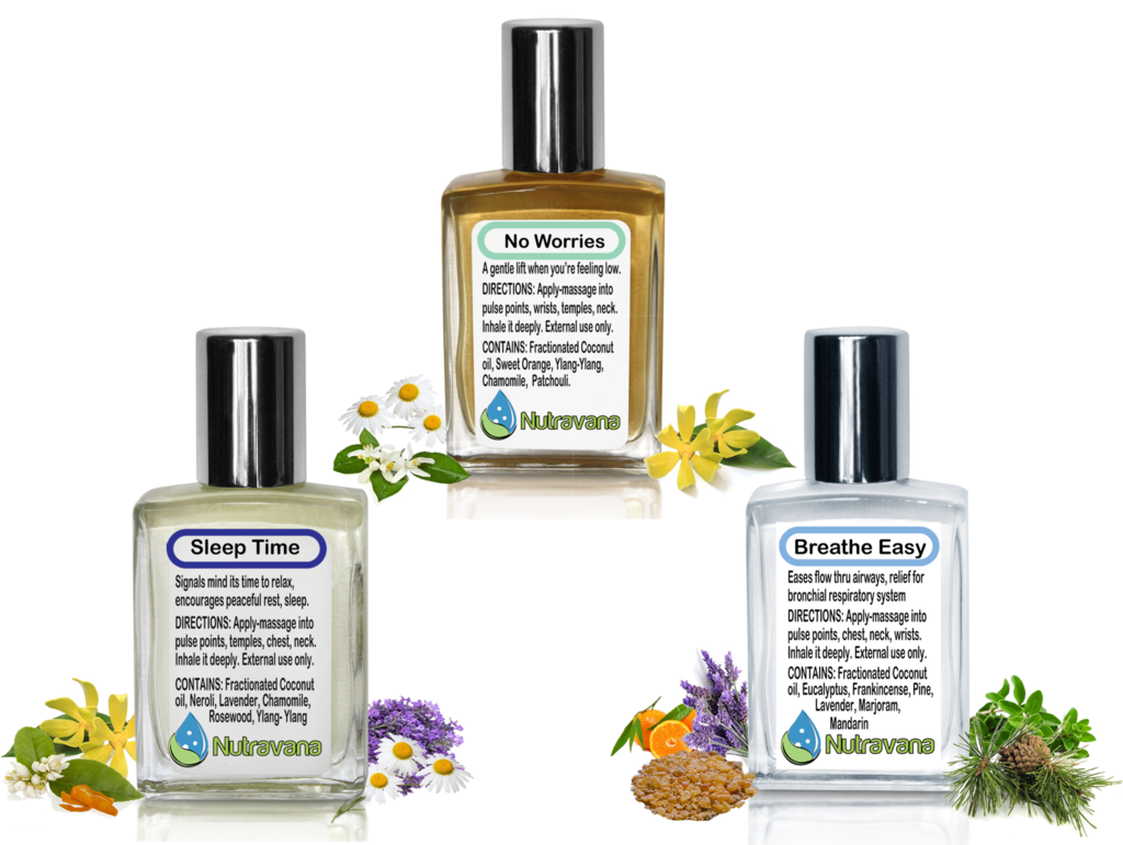 Sleeping potion png. Wellness trio gift set