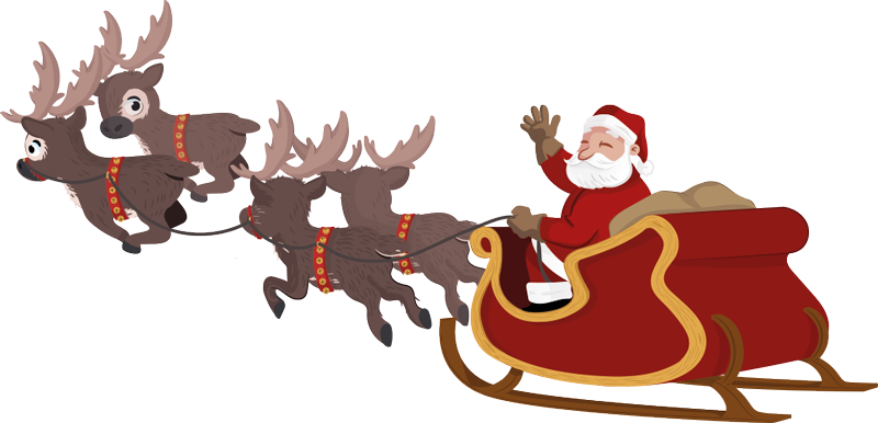 Santa sleigh png. Claus clipart at getdrawings