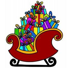 Sleigh clipart step by step. Santa and at getdrawings